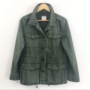 Old Navy Olive Green Utility Jacket Size Medium